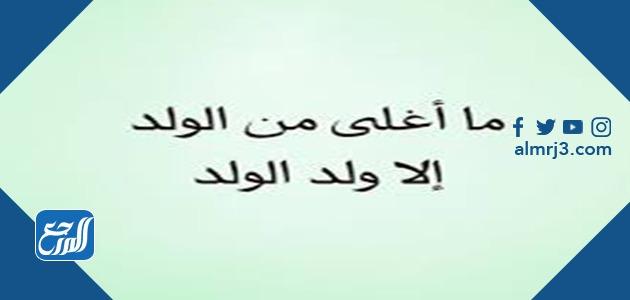 امثال شعبية سعودية بالصور