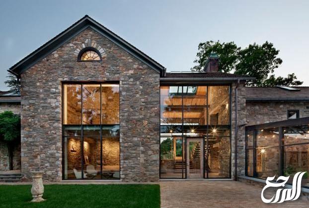 ديكورات منازل خارجية حجر