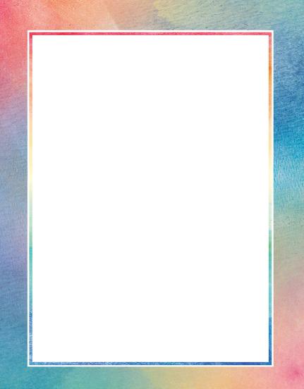 اطارات بسيطة ملونة للكتابة بداخلها