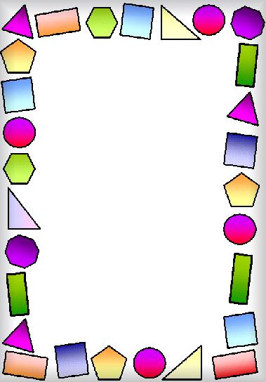 اطارات مدرسية للكتابة بداخلها للرياضيات
