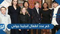 كم عدد اطفال انجلينا جولي