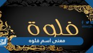 معنى اسم فلوه Flwh وصفات حاملة الاسم وحكم تسميته في الاسلام