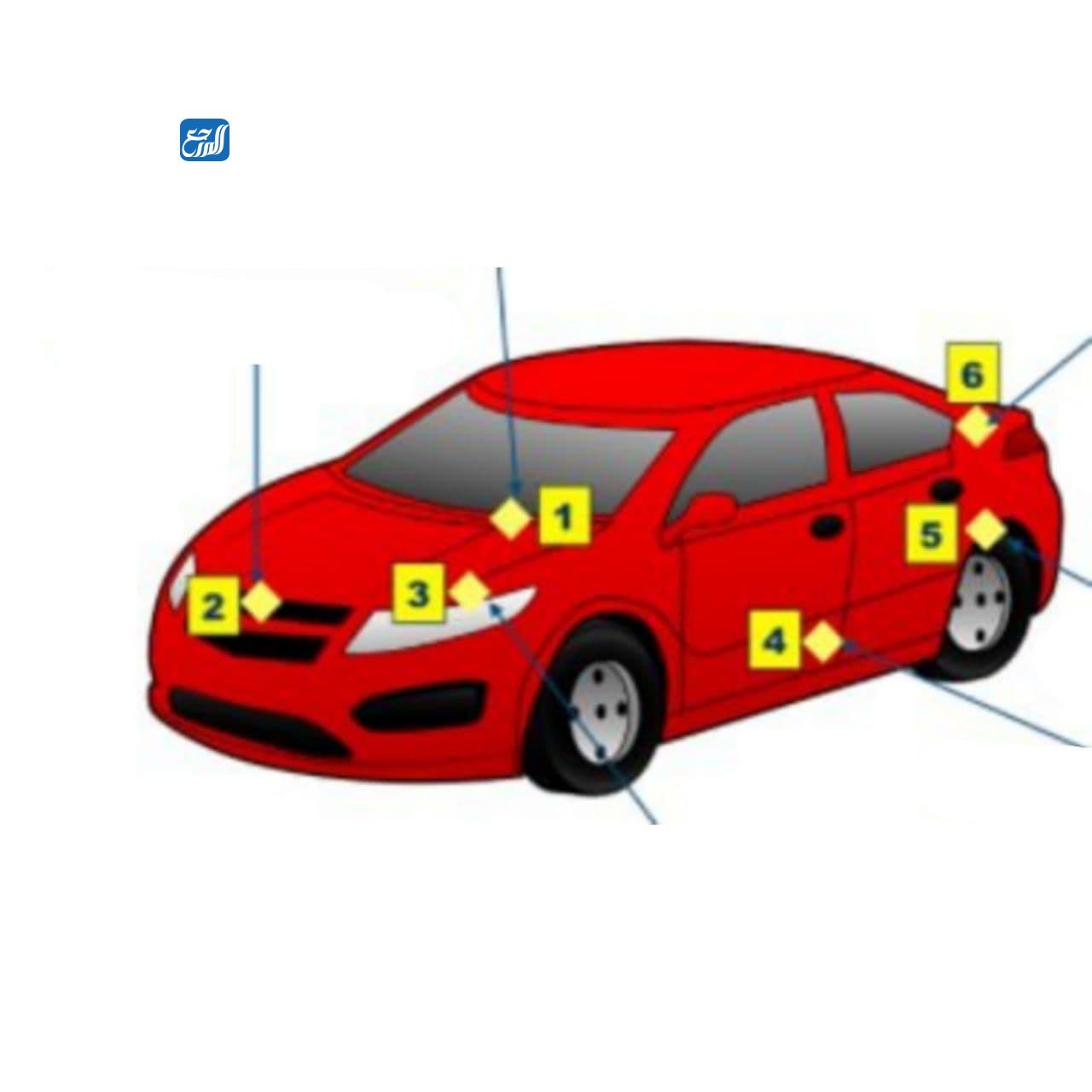 اماكن تواجد رقم الشاصي للسيارات اليابانية