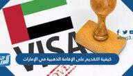 كيفية التقديم على الإقامة الذهبية في الإمارات