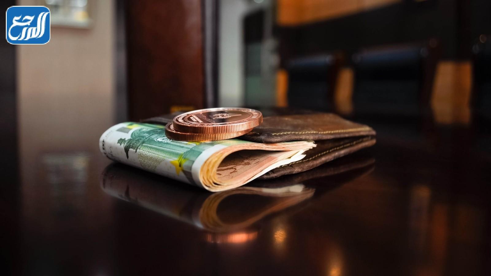 محفظة مفقودة بها اقامه مبلغ من المال