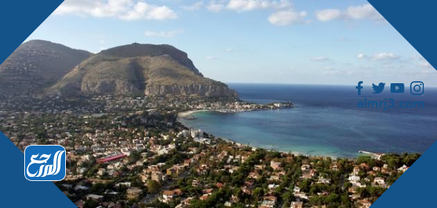 موقع أكبر جزيرة في البحر المتوسط
