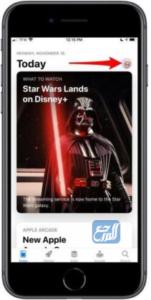 إلغاء إخفاء التطبيقات على هاتف iPhone أو جهاز iPad أو iPod touch