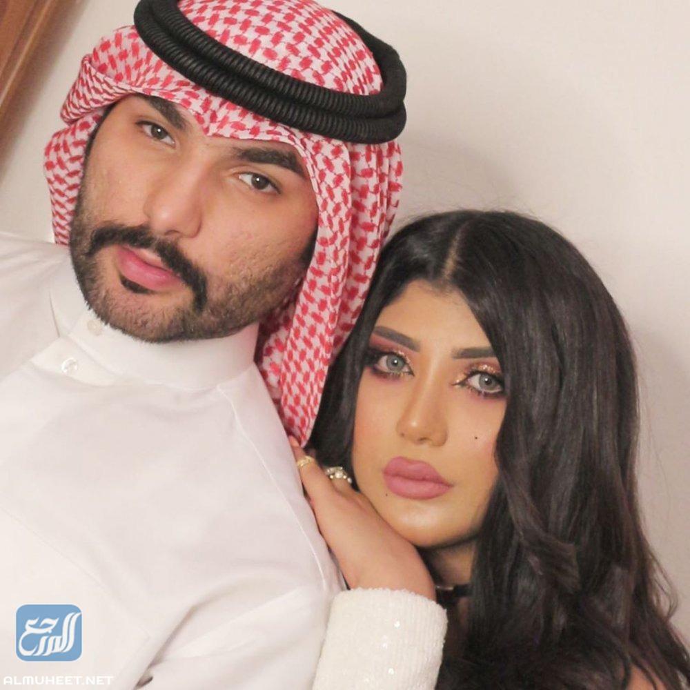 احمد العنزي وسارة الكندري