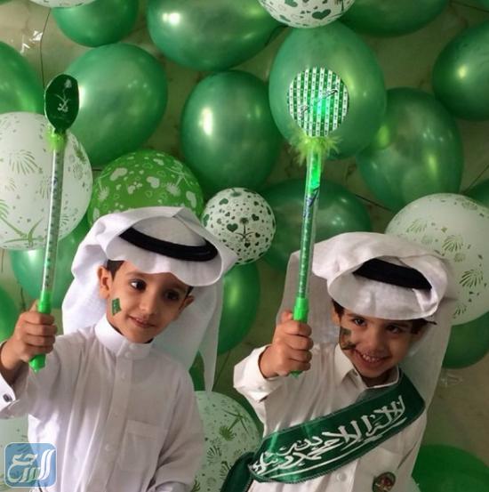 افكار اليوم الوطني السعودي للأطفال