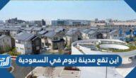اين تقع مدينة نيوم في السعودية