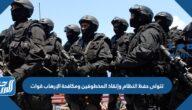تتولى حفظ النظام وإنقاذ المخطوفين ومكافحة الإرهاب قوات