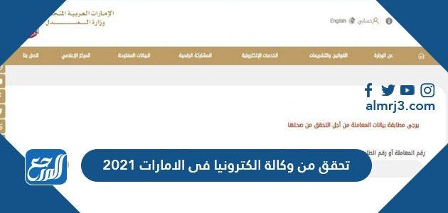 تحقق من وكالة إلكترونيا في الإمارات
