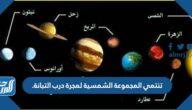 تنتمي المجموعة الشمسية لمجرة درب التبانة