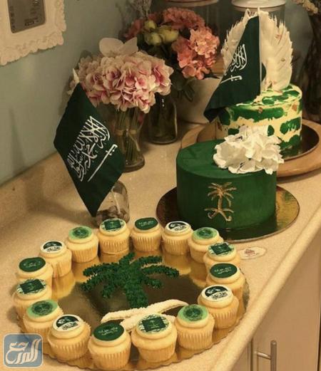 أفكار توزيعات العيد الوطني السعودي