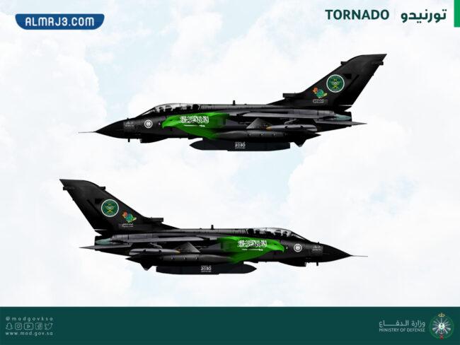 صور الطائرات المشاركة في استعراض الطيران اليوم الوطني 91
