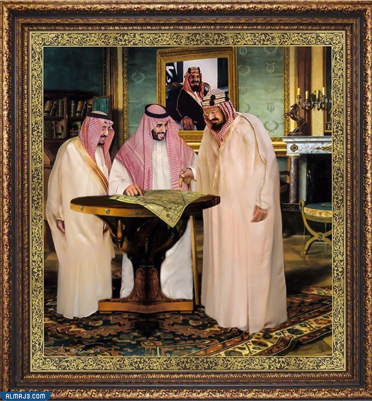 صو تصميم الملك سلمان ومحمد بن سلمان