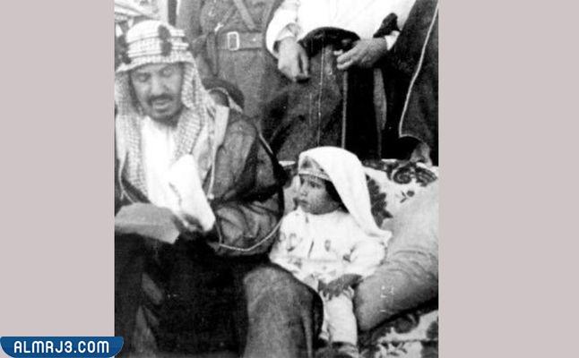 صور الملك سلمان وهو صغير png دقة عالية