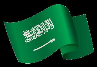 صور علم المملكة العربية السعودية مفرغ شفاف