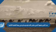 عدد الذين بايعوا النبي صلى الله عليه وسلم في بيعة العقبة الثانية