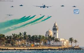 احتفالات القوات الجوية لليوم الوطني 91