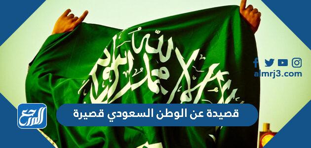 قصيدة عن الوطن السعودي قصيرة