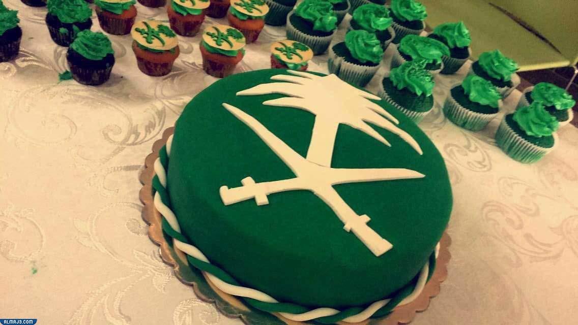 صور كعك وكب كيك اليوم الوطني السعودي 91