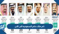 كم ملك حكم السعوديه الى الان