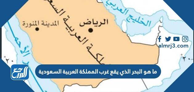 ما هو البحر الذي يقع غرب المملكة العربية السعودية