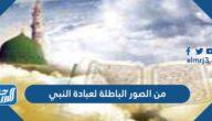 من الصور الباطلة لعبادة النبي
