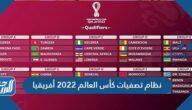 نظام تصفيات كأس العالم 2022 أفريقيا