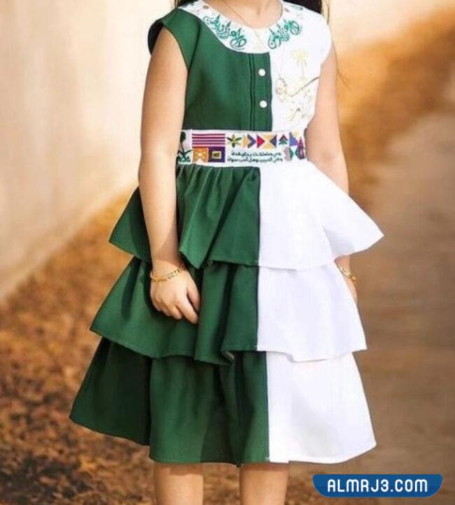 فساتين أطفال لليوم الوطني 2021- 1443