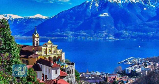 أين تقع انترلاكن في دولة سويسرا بالتحديد