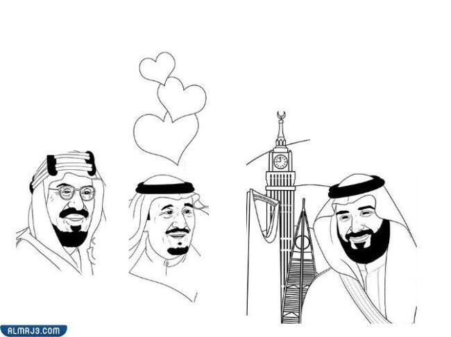 رسومات الملك سلمان للتلوين