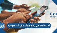 استعلام عن رقم جوال في السعودية بالاسم ورقم الهوية 1443