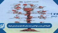 القبيلة التي ينتسب لها النبي محمد صلى الله عليه وسلم هي قبيلة