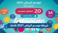 خريطة موسم الرياض 2021 كاملة