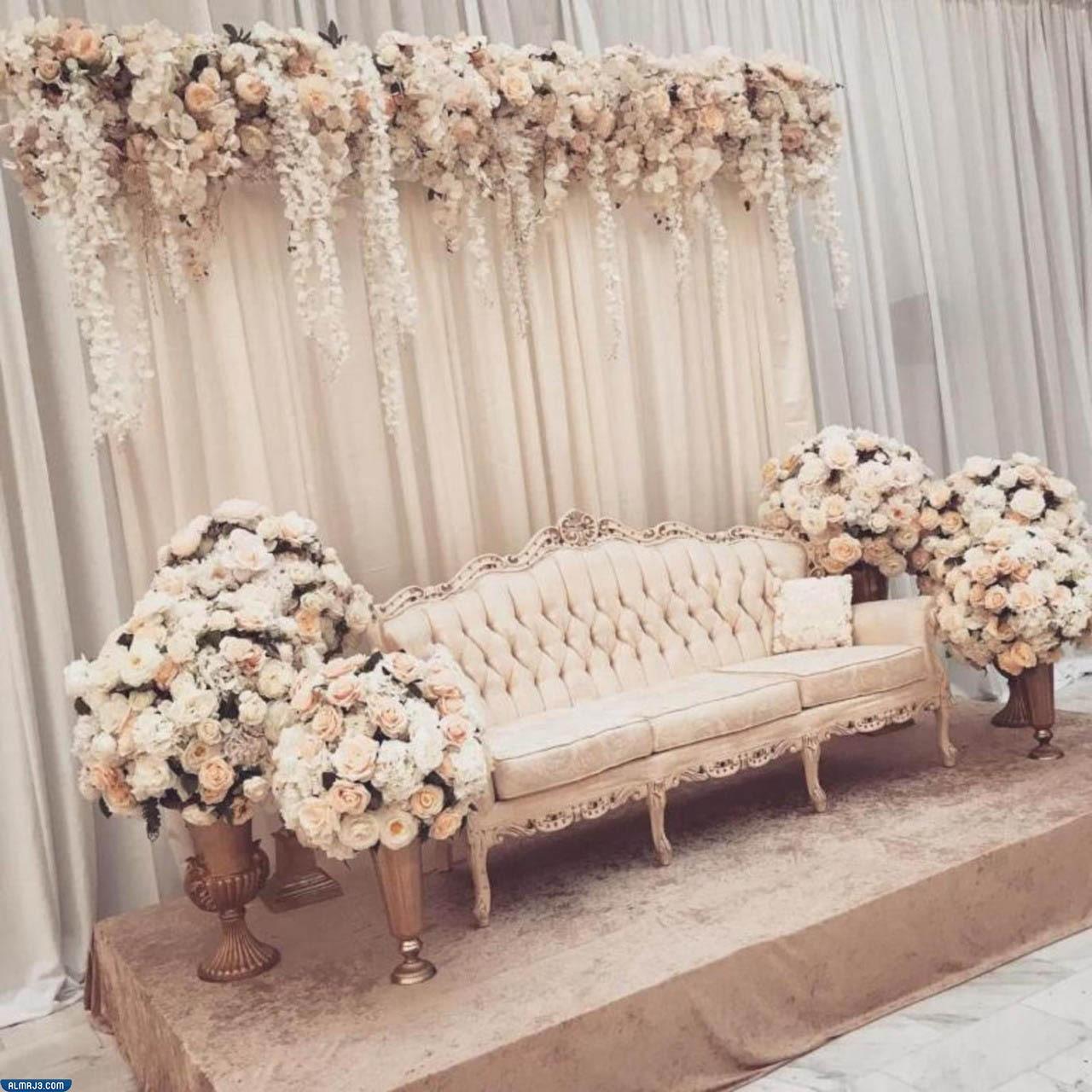 صور كوشة زفاف جديدة