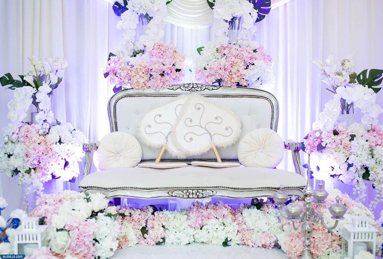 اجمل تصاميم كوشات الزفاف