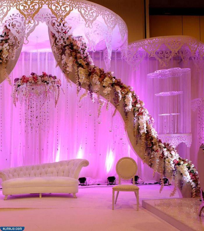 تصاميم أجمل كوشات أعراس