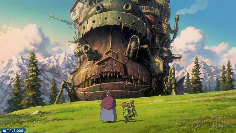 قلعة هاول المتحركة Howl's Moving Castle